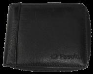 Carteira Zíper Fasolo H014 Couro | Dtalhe Calçados