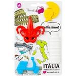 Cartela 4 Imãs Itália - Uatt?