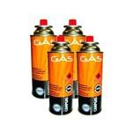 Cartucho de Gás Campgas 227gr Caixa com 4 Unidades