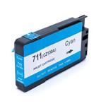 Cartucho de Tinta Compatível com Hp 711xl Ciano 29ml Cz130a Cq891a / Cq890a / Cq893a