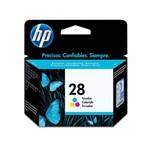Cartucho de Tinta HP 28 Colorido 12ml | PSC1315 1210 2410 | Original