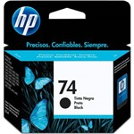 Cartucho Hp 74 (cb335wb) Black