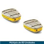 Cartucho 3M 6003 - Vapor Orgânico e Gás Ácido (Par)