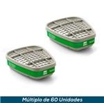 Cartucho 3M 6004 - Amônia/Metilamina (Par)
