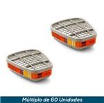 Cartucho 3M 6009 - Mercúrio ou Gás Cloro (Par)
