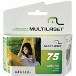 Cartucho Multilaser P/HP CO75X