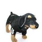 Casaco Caninas Preto para Cachorro Tam P