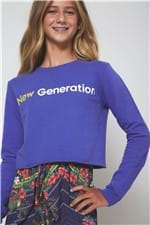 Casaco Moleton Cropped New Geration Lilas - 10