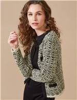 Casaco Tweed VERDE / P