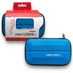 Case Bolsa Capa Protetora Estojo de Transporte para Nintendo New 2ds Xl Ll Azul
