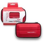 Case Bolsa Capa Protetora Estojo de Transporte para Nintendo New 2ds Xl Ll Vermelho