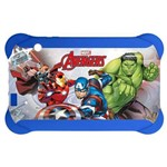 Case para Tablet 7 Pol. Disney Avengers Azul PR938 Multilaser