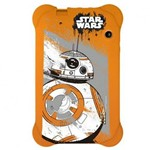 Case para Tablet 7 Pol Star Wars Laranja Multilaser- Pr940