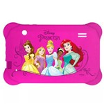 Case Tablet 7 Pol. Disney Princesas Rosa PR939 Multilaser