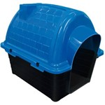 Casinha Plast. Furacaopet Iglu N3,0 - Azul