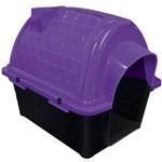 Casinha Plast. Furacaopet Iglu N3,0 - Lilas