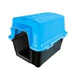 Casinha Plástica Furacão Pet - Tamanho 2 Azul
