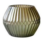 Castiçal de Vidro Marrom Chinese Ballon Urban