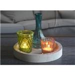 Castical de Vidro Round Cute Glass Pequeno Colorido