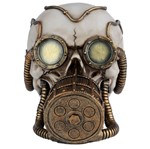 Caveira Decorativa em Resina Oxigen Mask Urban
