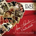 CD Ana Paula Valadão as Fontes do Amor (Play-Back)