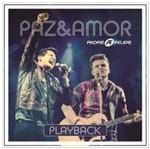 CD André e Felipe Paz e Amor (Play-Back)