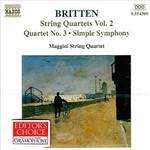 CD Britten - String Quartets - Vol. 2 - IMPORTADO