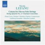 CD Catena For Eleven Solo Strings, String Quartet No. 2, (Importado)