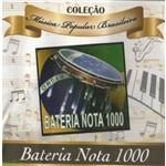 Cd Coleção Música Popular Brasileira - Bateria Nota 1000