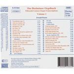 CD das Buxheimer Orgelbuch, Vol. 1 (Importado)