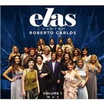 CD Duplo Roberto Carlos - Elas Cantam Vol. 01