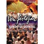 CD+DVD - Fundo de Quintal - Vou Festejar