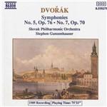 CD Dvorak - Symphonies 5 & 7