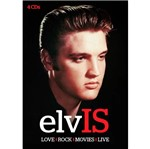 CD Elvis Presley - Elv Is Love, Rock, Movies, Live (4 CDs)