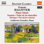 CD Ernesto Halffter - Piano Music (Importado)