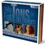 CD Fafá de Belém - Três Tons de Fafá de Belém (3 CDs) - 2012