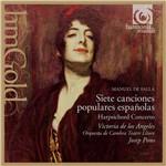 CD - Falla - Chansons Populaires Espagnoles