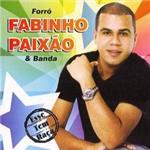 CD Forró Fabinho Paixão e Banda