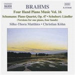 CD Four Hand Piano Music, Vol. 16 (Importado)