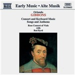 CD Gibbons - Consort And Keyboard Music