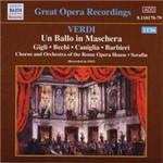 CD Giuseppe Verdi - Ballo In Maschera (Importado)