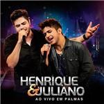 CD - Henrique & Juliano: ao Vivo em Palmas