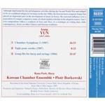 CD Isang Yun - Chamber Symphony I / Tapis / Gong-Hu (Importado)