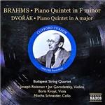 CD Johannes Brahms - Piano Quintet (Importado)