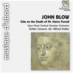 CD John Blow - Ode On The Death Of Mr. Henry Purcell (Importado)