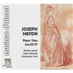 CD Joseph Haydn - Plano Trios Nos. 25-27
