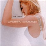 CD Madonna - Something To Remember