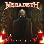 CD Megadeth - Th1rt3en