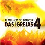 CD Melhor do Louvor Igrejas Volume 4