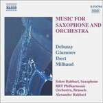 CD Music For Saxophone And Orchestra (Importado)
